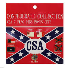 Bonnie Flag Confederate Flag Pin Collection