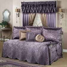 bedroom striking daybed bedding sets with curtain design and wall