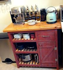 easy kitchen island white coffee bar based on easy kitchen island diy projects