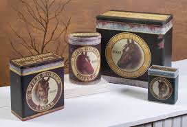 Western Kitchen Canister Sets by Canisters Kitchen Decor Decorative Accessories Moocowmeadows