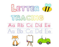 letter tracing etsy