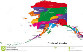 Petersburg Alaska Map by Alaska National Park Promo Signs Series Of Colorful Vector Design