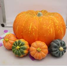 foam pumpkins 38cm big size christmas supplies high artificial