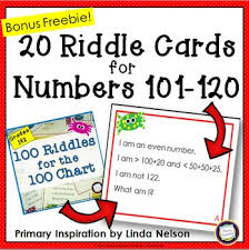 101 games pattern riddle here s a set of riddle cards for use with a 120 chart these focus