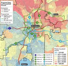 Atlanta Map Usa by Atlanta Transit Expansion Plans Will Cost Billions But Are Rated