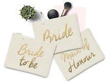 Bride Makeup Bag Wedding Make Up Ebay