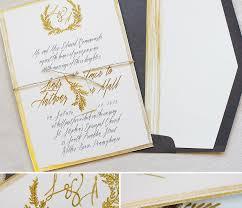Gold Foil Wedding Invitations Gold Coast Wedding Invitations Tbrb Info
