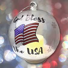 American Flag Christmas Lights Patriotic Christmas Tree Decorations 2017 American Patriotic