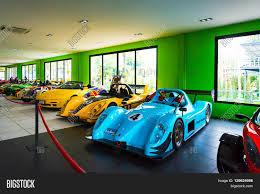 Nong Nooch Tropical Botanical Garden by Chonburi Thailand March 18 2016 Car Museum Show In Nong Nooch