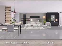 White Living Room Sets Ung999 S Black White Living