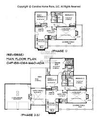 house plans 2 build in stages small house plan bs 1084 1660 ad sq ft small