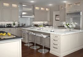Kitchen  Fancy White Shaker Kitchen Cabinets Images Of New In - Shaker cabinet kitchen