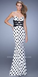 and white polka dot prom dresses boutique prom dresses