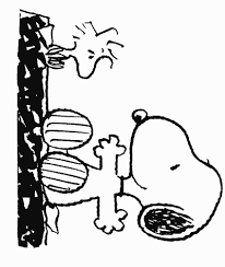 peanuts coloring pages color book