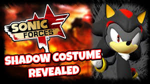 Shadow Costume Sonic Forces News Exclusive Shadow The Hedgehog Costume Revealed