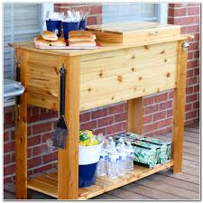 Outdoor Cooler Cart On Wheels by Patio Cooler Carts Wheels Cart Plans Coolers With Stands Wooden