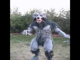 werewolf costume 2010 video youtube