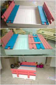 best 25 pallet sandbox ideas on pinterest kids sandbox sandpit