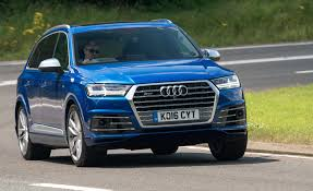 Audi Q7 Limo - 2017 audi sq7 tdi diesel first drive u2013 review u2013 car and driver