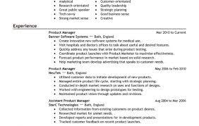 resume stunning product manager resume samples fresh stunning