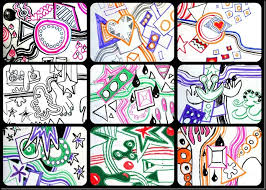 hip hop kandinsky murals kids make designs and vote on one to