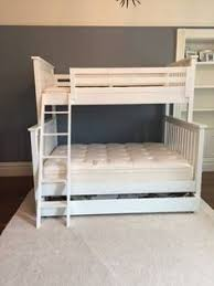 Dorel Twin Over Twin Metal Bunk Bed White Kids  Teen Rooms - Land of nod bunk beds