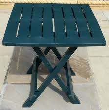 folding outdoor side table side table folding outdoor side table resin plastic garden