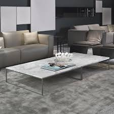 Marble Living Room Tables Porto Square Marble Coffee Table Chrome Marble Living Room Table