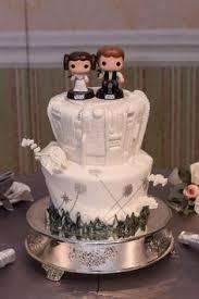 wars wedding cake topper 15 wonderfully nerdy wedding cake toppers you ve big and wedding