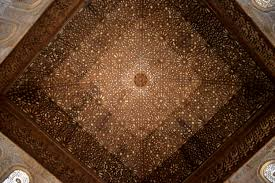 the magnificent alhambra javanese wanderer ceiling of the hall of ambassador