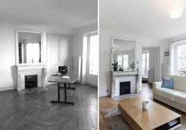 Relooking Salon Avant Apres Appartement 4 Pièces 100 M2 Aix En Provence