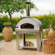 fontana forni marinara wood fired pizza oven with cart anthracite fi