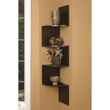 Wooden Corner Shelf Plans by Lovable Zig Zag Wall Shelf On Ctional Wooden Wall Wooden Wall