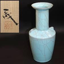 Celadon Vase Seiji Celadon Vase By Suzuki Sansei Item 1108340