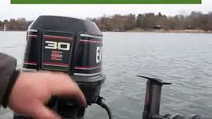 1995 evinrude 115 hp outboard on a 1985 bayliner capri 1600 test 1