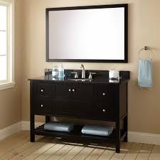 48 Black Bathroom Vanity 48