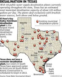 South Padre Island Map Desalination A Big Part Of Texas U0027 Water Future Houston Chronicle