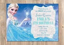 baby shower invitations mesmerizing frozen birthday invitations