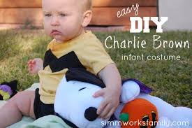 Charlie Brown Costume Charlie Brown Halloween Costume For Baby A Crafty Spoonful