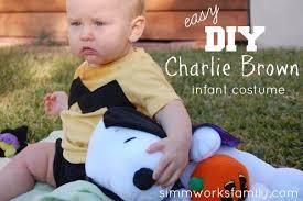 Charlie Brown Halloween Costumes Charlie Brown Halloween Costume Baby Crafty Spoonful