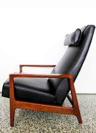 furniture low profile recliners mid century recliner