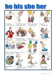 71 free esl possessive pronouns worksheets