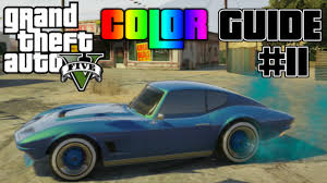 gta v ultimate color guide 11 best colors combos for invetero