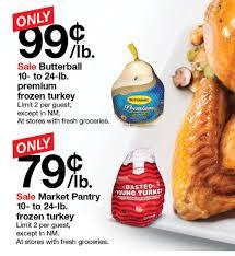 butterball turkeys on sale best turkey price roundup updated as of 11 17 17