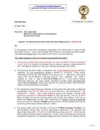Sample Teacher Resume Indian Schools by Cover Letter To Shri Kapil Sibal 2nd April 2010