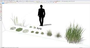 Sketchup by Making Of The Meadow With Sketchup U0026 Skatter 3d Architectural