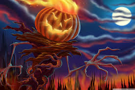 best halloween backgrounds pumpkin monster hd desktop wallpaper widescreen high
