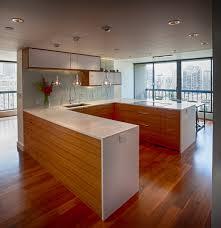 horizontal kitchen cabinets condoremodel mark david studios rift cut oak horizontal d u0026d
