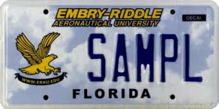 Florida Vanity Plate Cost Does Your State Offer Aviation Themed License Plates U2014 General
