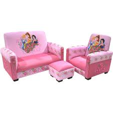 sofa chair and ottoman set disney princess jeweled gardens sofa chair and ottoman set baby